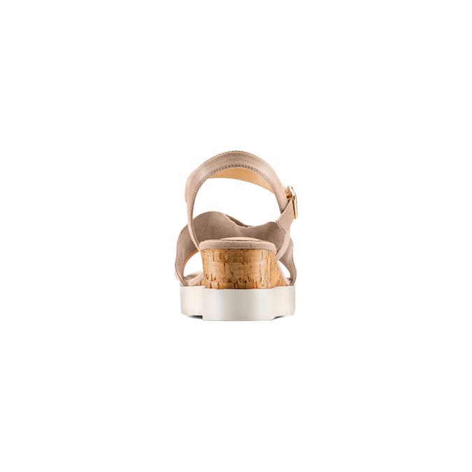 BATA Chaussures Femme bata, Beige, 669-2382 - 15
