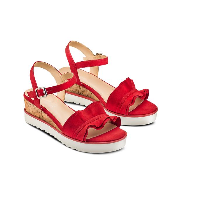 BATA Chaussures Femme bata, Rouge, 669-5382 - 16