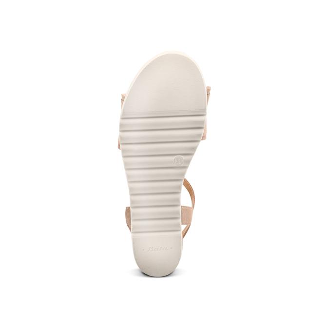 BATA Chaussures Femme bata, Beige, 669-2382 - 19