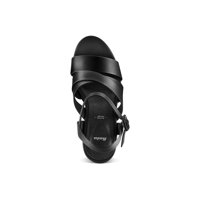 BATA Chaussures Femme bata, Noir, 761-6582 - 17