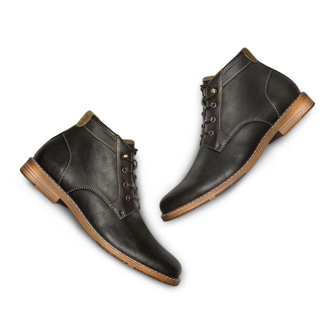 BATA RL Chaussures Homme bata-rl, Noir, 821-6930 - 26