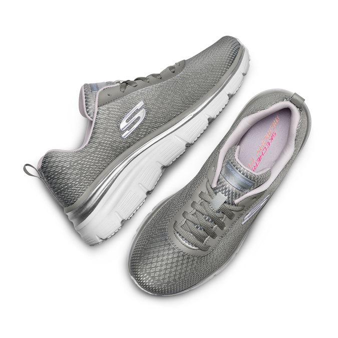 Chaussures Femme skechers, Gris, 509-2166 - 26