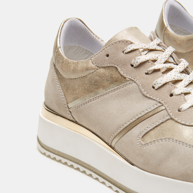Chaussures Femme bata, Beige, 643-8159 - 26