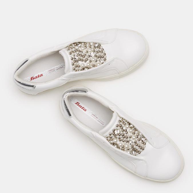 Chaussures Femme bata, Blanc, 541-1547 - 19
