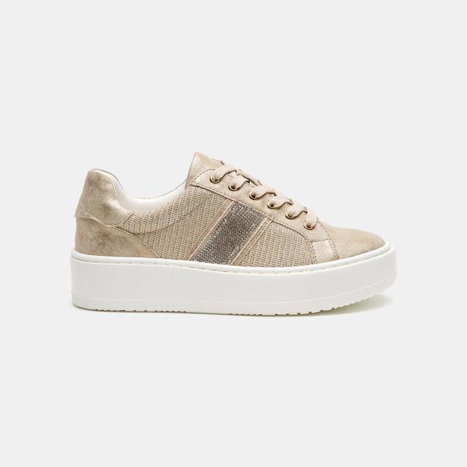 Chaussures Femme bata, Or, 549-8551 - 13