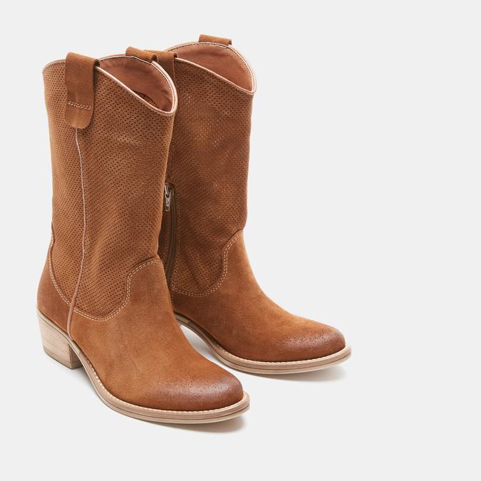 Chaussures Femme bata, Beige, 693-8563 - 16