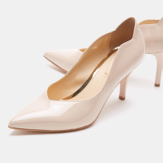 Chaussures Femme bata, Beige, 721-8356 - 17