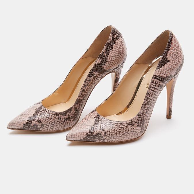 Chaussures Femme bata, Beige, 721-8352 - 17