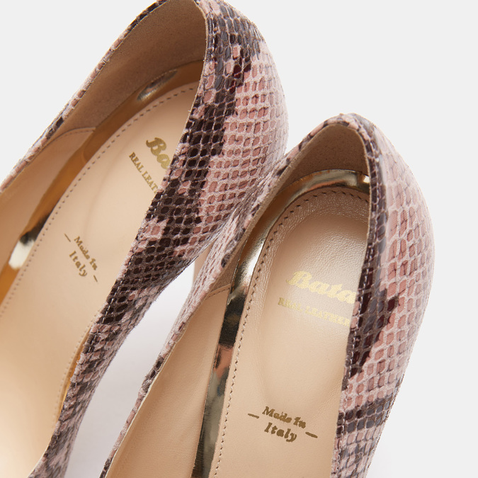 Chaussures Femme bata, Beige, 721-8352 - 16