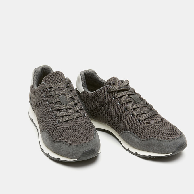 Chaussures Homme bata, Gris, 849-2880 - 26