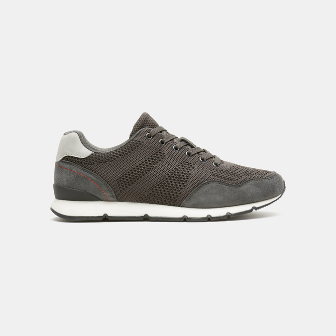 Chaussures Homme bata, Gris, 849-2880 - 13