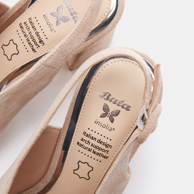 Chaussures Femme insolia, Beige, 763-8394 - 19