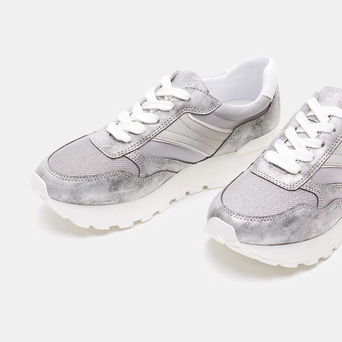 Chaussures Femme bata, Argent, 541-2574 - 17