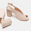 Chaussures Femme insolia, Beige, 763-8394 - 17