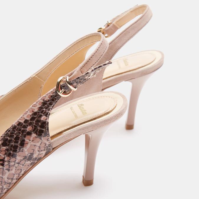 Chaussures Femme bata, Beige, 723-8412 - 15