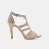 Chaussures Femme bata, Beige, 764-8391 - 13