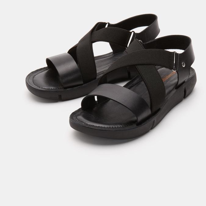 Sandales à bride weinbrenner, Noir, 564-6722 - 16