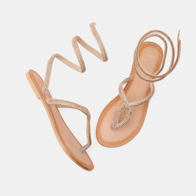 Chaussures Femme bata, Beige, 564-8708 - 16