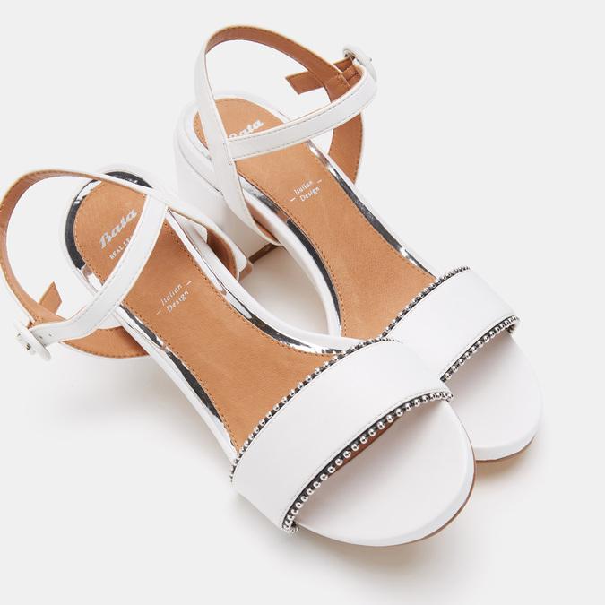 Chaussures Femme bata, Blanc, 661-1212 - 15