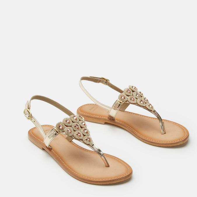 Chaussures Femme bata, Or, 564-8711 - 16