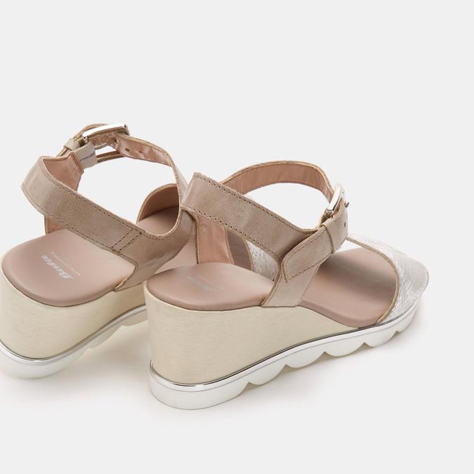 Chaussures Femme bata, Gris, 764-2757 - 16