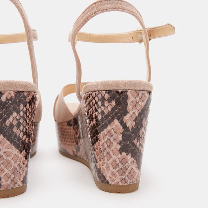 Chaussures Femme bata, Beige, 763-8749 - 15