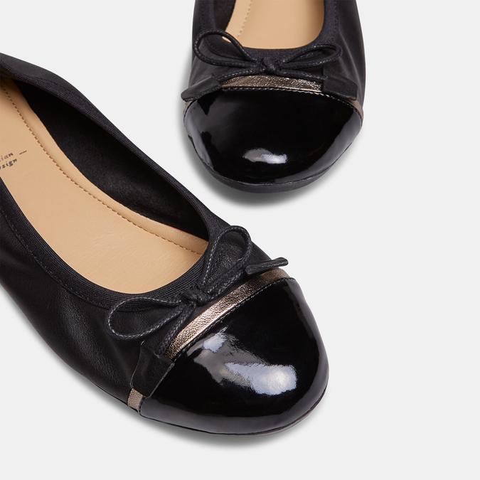 Ballerines femme bata, Noir, 524-6388 - 15