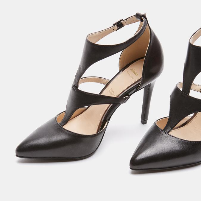 Chaussures Femme bata, Noir, 724-6365 - 17