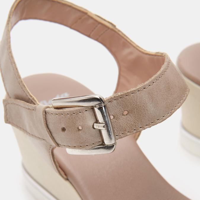 Chaussures Femme bata, Gris, 764-2757 - 26