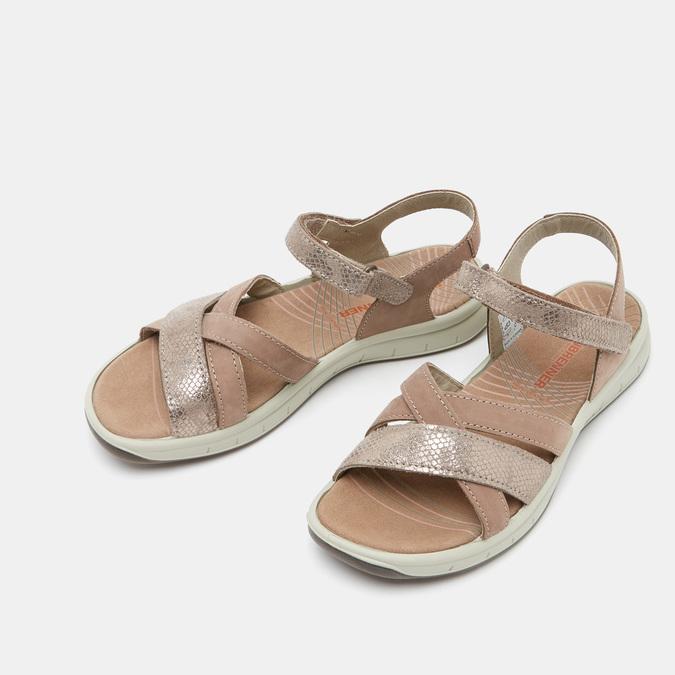 Chaussures Femme weinbrenner, Or, 566-8724 - 26
