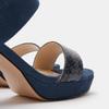 Chaussures Femme bata, Bleu, 769-9221 - 15