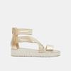 Chaussures Femme bata-rl, Or, 561-8671 - 13