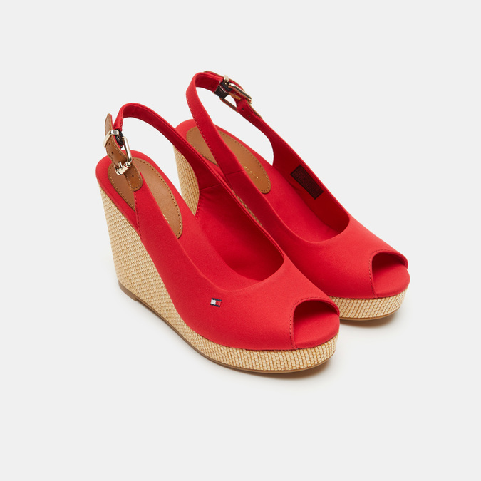 Chaussures Femme tommy-hilfiger, Rouge, 769-5365 - 19
