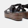 Chaussures Femme bata, Noir, 761-6761 - 15