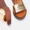 Chaussures Femme bata, Or, 764-8751 - 17