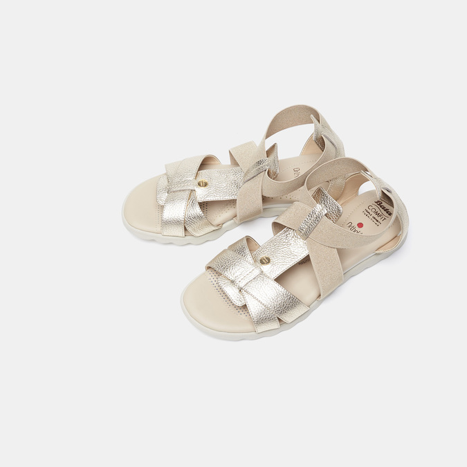 Chaussures Femme comfit, Or, 564-8487 - 17