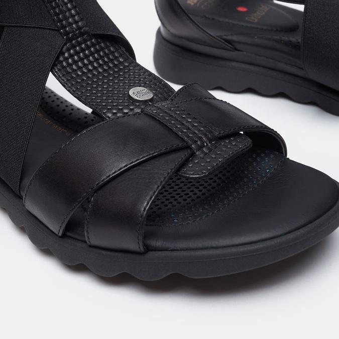 Chaussures Femme comfit, Noir, 564-6487 - 19