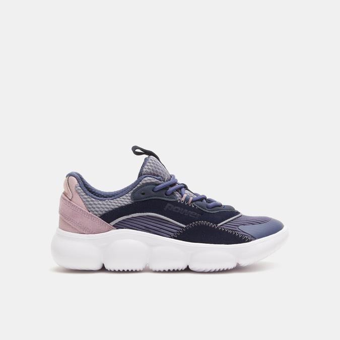 Chaussures Femme power, Bleu, 509-9152 - 13