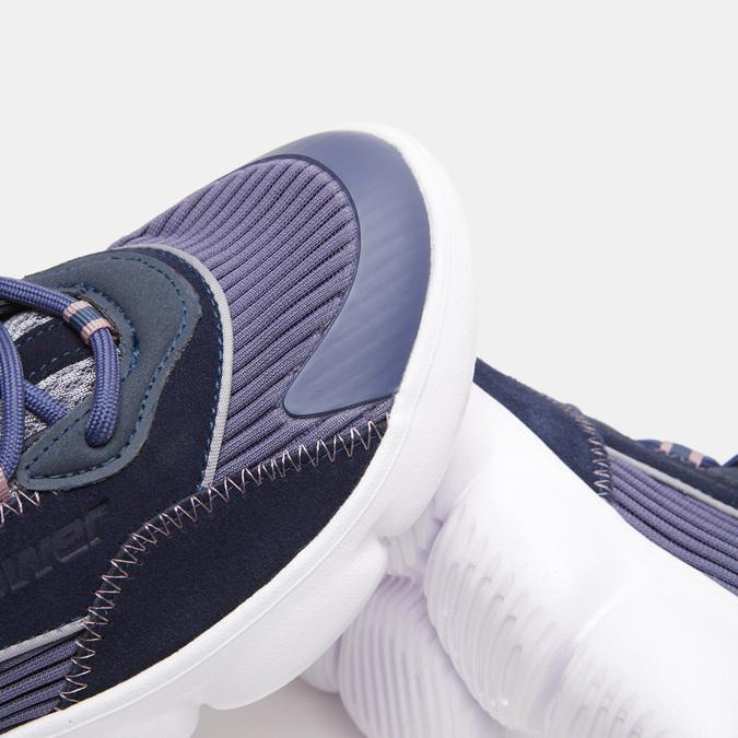 Chaussures Femme power, Bleu, 509-9152 - 17