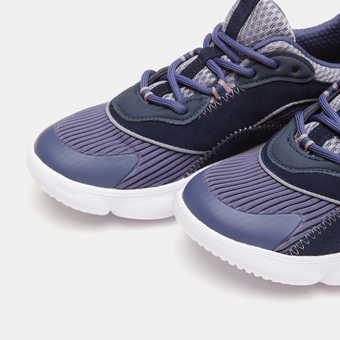 Chaussures Femme power, Bleu, 509-9152 - 26