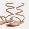 Chaussures Femme bata, Beige, 564-8708 - 15