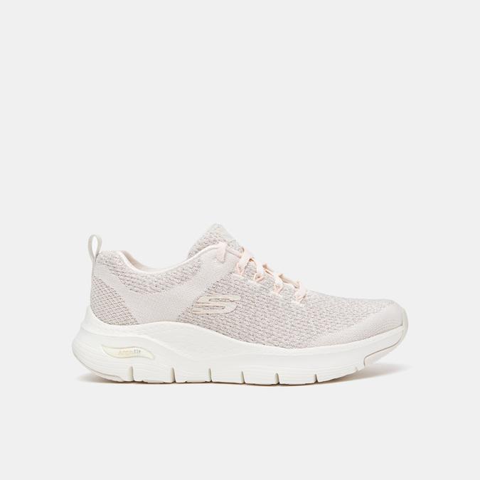 Chaussures Femme skechers, Blanc, 509-1172 - 13
