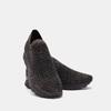 Chaussures slip-on à empeigne tricotée avec paillettes bata, Noir, 539-6143 - 19