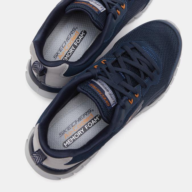 Chaussures Homme skechers, Bleu, 801-9132 - 16