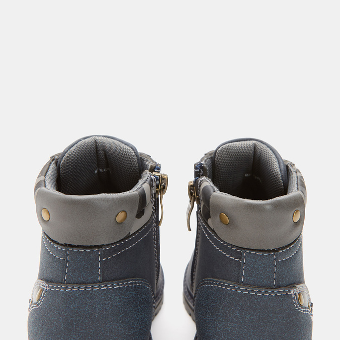 BOTTINES ENFANT mini-b, Bleu, 291-9149 - 17