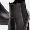 Bottines en cuir bata, Noir, 694-6501 - 26