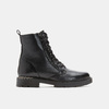 Bottines en cuir bata, Noir, 594-6383 - 13