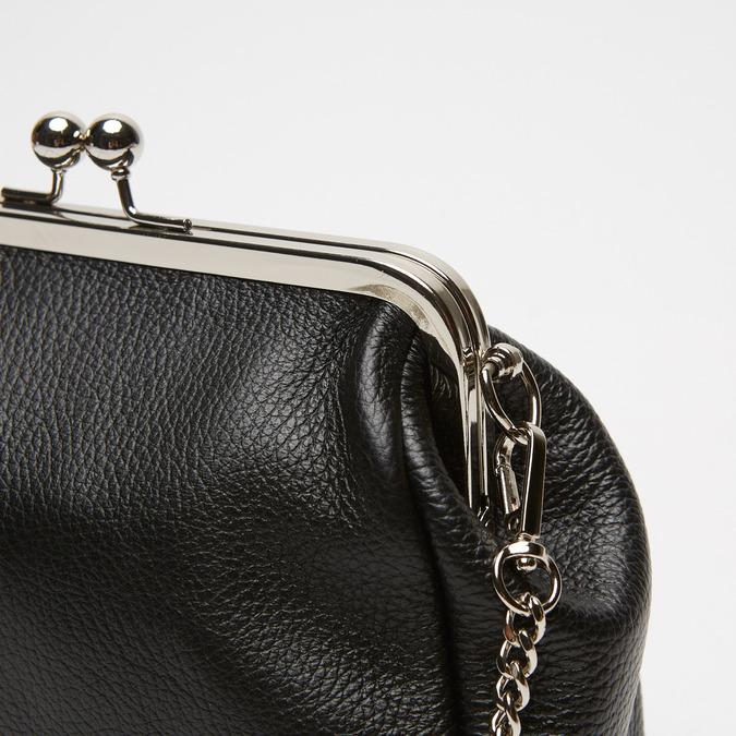 Pochette en cuir bata, Noir, 964-6306 - 26