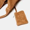 Sac hobo en cuir bata, Brun, 963-3110 - 17