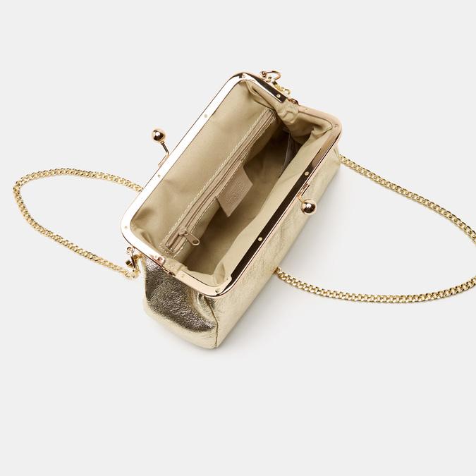 Pochette en cuir bata, Or, 964-8306 - 17